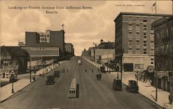 Looking up Forth Avenue from Jefferson Street