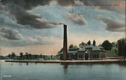 Waltham Pumping Station Postcard