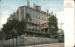 Perkins Institute, South Boston Postcard