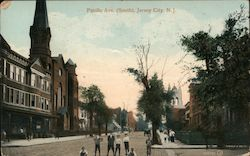 Pacific Ave (South) Postcard