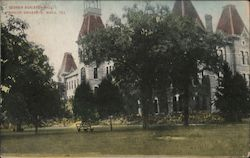 Georgia Burleson Hall, Baylor University Postcard