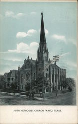 Fifth Methodist Church Postcard