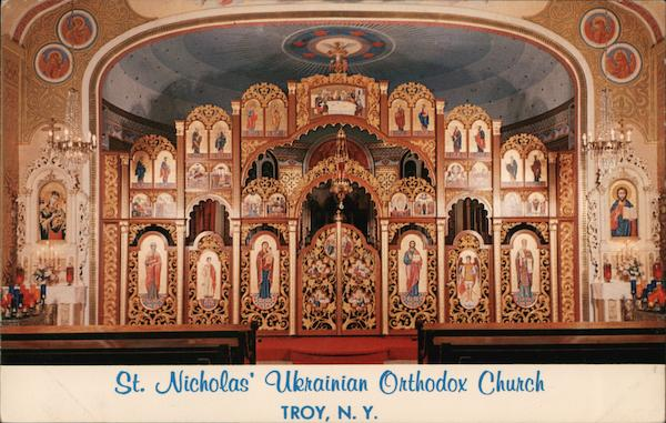 St. Nicholas' Ukrainian Orthodox Church Troy New York