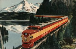 "Southern Pacific Steamer ""Shasta Daylight"" Postcard"