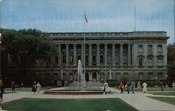 Wisconsin State Historical Society Building Postcard