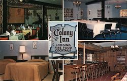 Colony Inn Lodging Fine Foods Cocktails