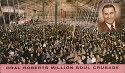 Personal Invitation to Attend Oral Roberts Million Soul Crusade February 6-15, 1959 Fairground Coliseum