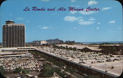 La Ronde and Ala Moana Center Postcard
