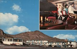 "Continental Motel & Steakhouse ""A Desert in the Mountains"" Postcard"