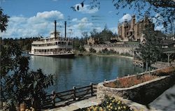 Cruising the Rivers of America - Walt Disney World Postcard