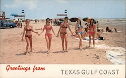 Greetings from Texas Gulf Coast Postcard