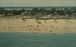 Aerial view of Singer Island Postcard