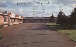 Greetings from The Coach Motel Postcard