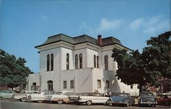 Franklin County Court House Postcard