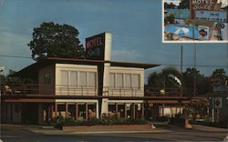 Motel South Postcard