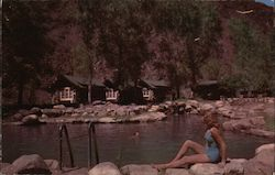 Swimming Pool at Phantom Ranch, Grand Canyon Postcard