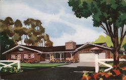 Country Ranch Home for $9,950 - Hickory Homes Postcard