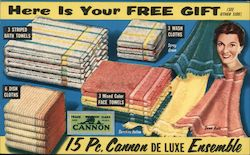 Cannon Towel De Luxe Ensemble, Free Gift from Smith Jewelry