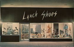 Lynch Shoes Postcard