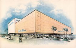 Jordan Marsh, The Stores with Florida Flair, Colonial Plaza Postcard