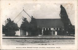 Michillinda Presbyterian Church Postcard