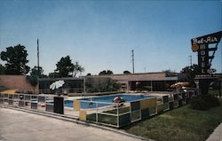 "Bel-Air Motel ""The South's Finest Motel"" 4104 Chef Mentour Highway-U.S. Route 90 11 East 4 Miles From Business Section"