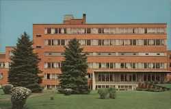Elkhart General Hospital Situated In Park Like Surroundings, Overlooking The St. Joseph River