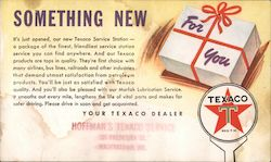 Texaco Something New For You Postcard