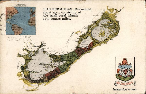 Map of Bermuda, Coat of Arms