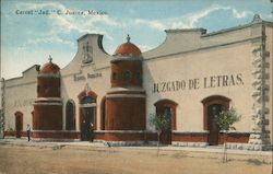 Jail in Juarez Postcard