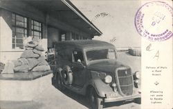 Delivery of Mails at Rand Airport - Empire Exhibition 1936 Postcard