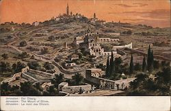 The Mount of Olives Postcard