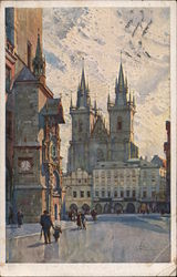 Church of Our Lady before Týn Postcard