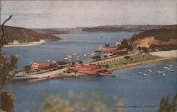 View of Middle Harbour Postcard