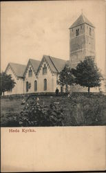 Heda Church Postcard