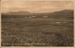 Snowdonian Range from the Links Postcard