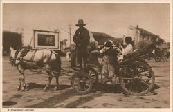 A Manchukuo Carriage Postcard