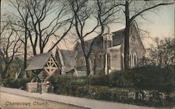 Charlestown Church Postcard
