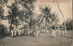 Church Mission House Postcard