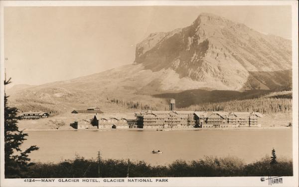Many Glacier Hotel, Glacier National Park Babb Montana