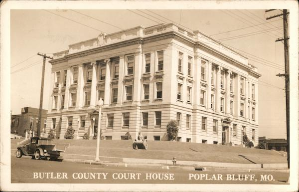 Butler County Court House Poplar Bluff Missouri