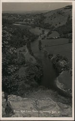 River Wye from Symonds Yat Rock Postcard
