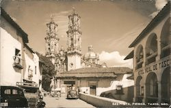 Church of Santa Prisca Postcard