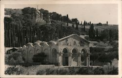 Church of All Nations, Mount of Olives Postcard