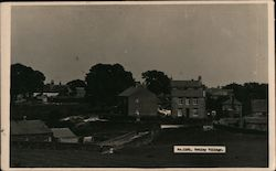 Tetley Village Postcard