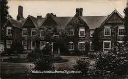 Fyfield Manor, Historical Wiltshire Home Postcard