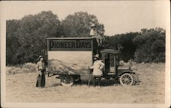 Pioneer Days with Montie Montana Postcard