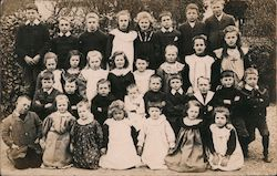 Group of Schoolchildren Postcard