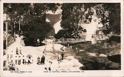 View at Central Springs Mineral Reserve Postcard
