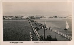 St Kilda from the Pier Postcard